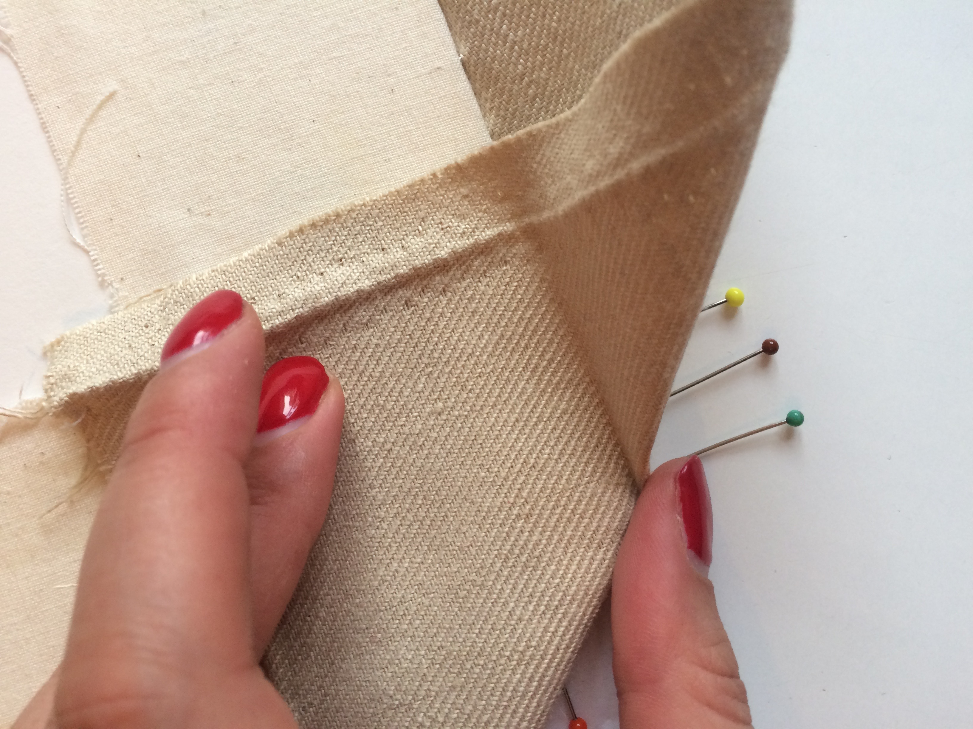 How To Mount Your Embroidery Ready For Framing Part 2 Well
