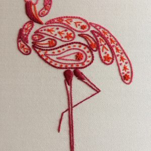mindfulness flamingo