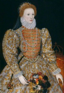 unknown artist; Queen Elizabeth I; National Portrait Gallery, London; http://www.artuk.org/artworks/queen-elizabeth-i-158377