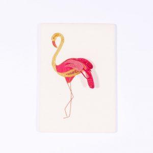 Stumpwork Flamingo Kit