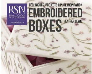 An Interview with Heather Lewis, Author of Embroidered Boxes