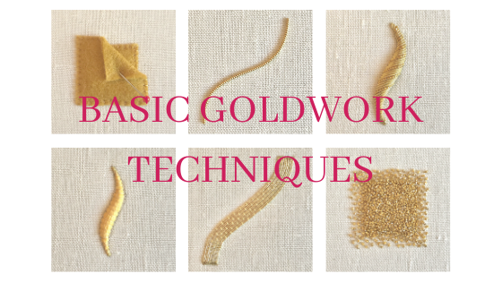 An Introduction to Basic Goldwork Techniques