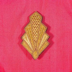 Goldwork Art Deco Brooch Kit and/or distance learning course
